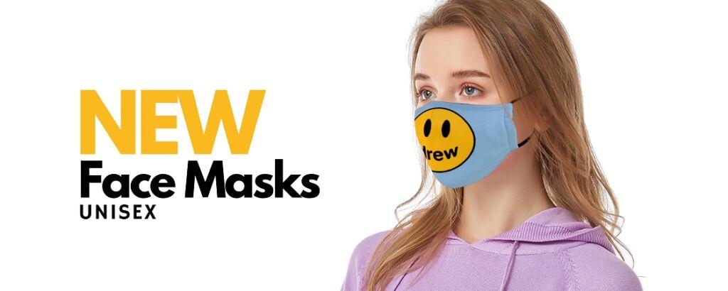 drew face masks